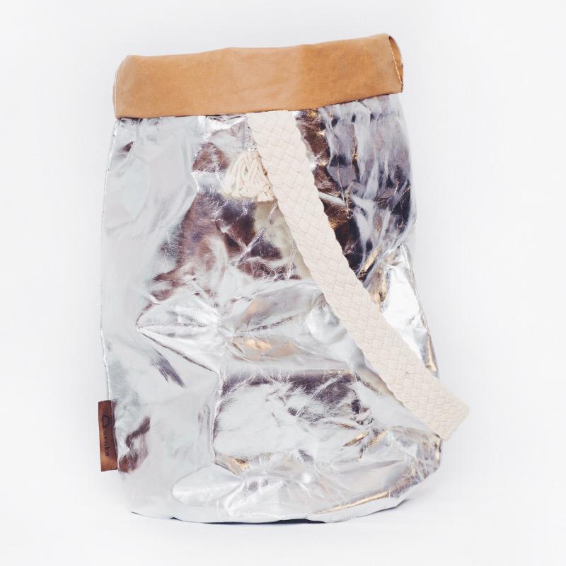 Sroka bag M – silver