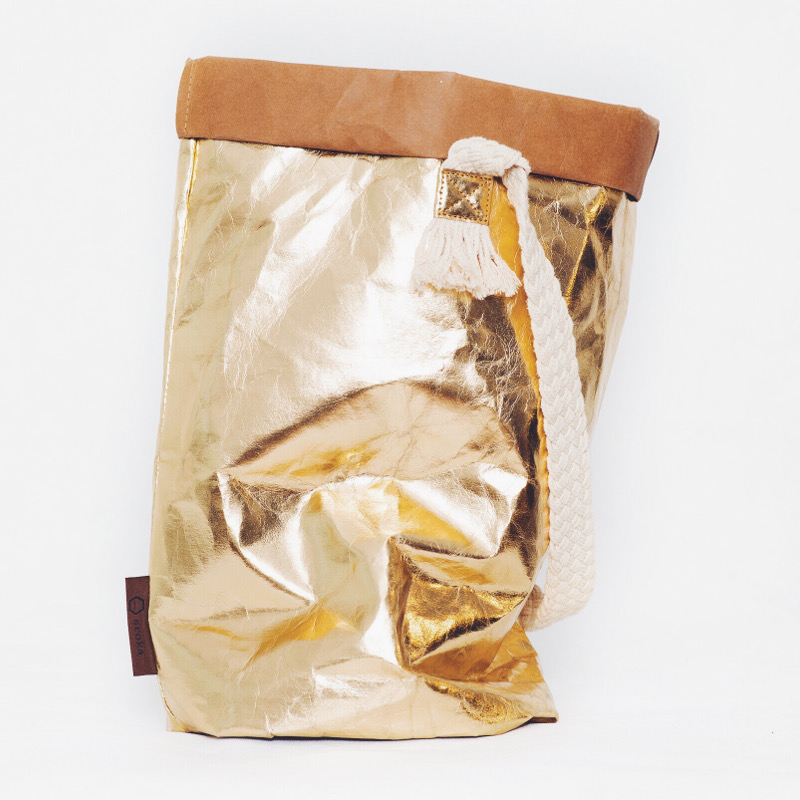 Sroka bag M – gold